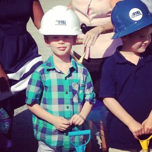 Gideon Prast at Groundbreaking
