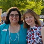 Hope Cottage Chief Development Officer Leslie Clay (left) with Monica Egert Smith of the Communities Foundation of Texas