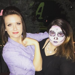 Rosie the Riveter and Sugar Skull