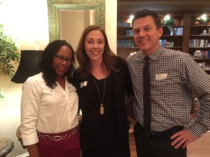Hope Cottage Board Members Shannon Hills-Cline with Hope Cottage Board Member Heather Kahlfeldt and her husband Carl