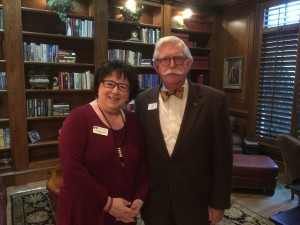 Hope Cottage CEO Sonyia Hartwell and Hope Cottage Board Member Jerry Holbert