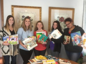 Hope Cottage Staff with books