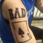 Bad Aces Team Tatoo