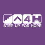 Purple Step up for Hope logo