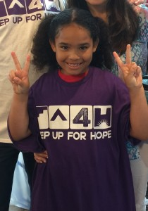 Faith challenges everyone to join Kids Raising Hope